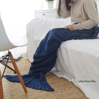 Cheer Collection Large Mermaid Tail Blanket (Option: Pink)|https://ak1.ostkcdn.com/images/products/15972625/P22369425.jpg?impolicy=medium