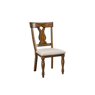 Intercon Luciano Splatback Padded Seat Dining Chair -2 pack