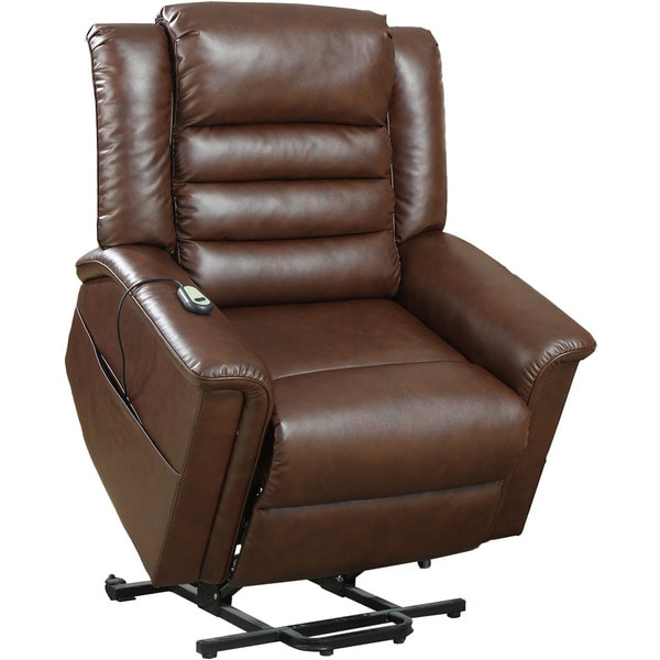 Shop Cambridge Chester Brown Fabric 3 Way Lift Reclining