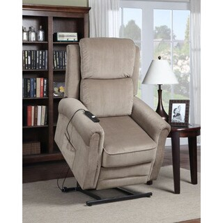 Cambridge Chester Tan Microfiber 3-way Lift Reclining Chair