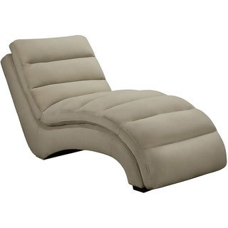 Cambridge Savannah Tan Microfiber Chaise Lounge
