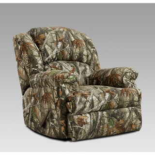 Cambridge Camo Green Fabric Rocker Recliner