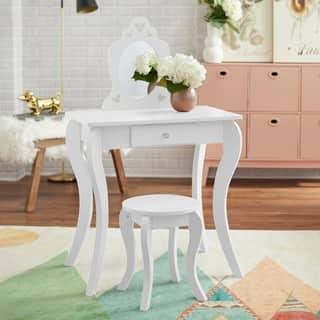 Simple Living Alyssa Kids Vanity Set|https://ak1.ostkcdn.com/images/products/15973455/P22370149.jpg?impolicy=medium