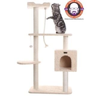 "Armarkat 57"" Beige Cat Tree"