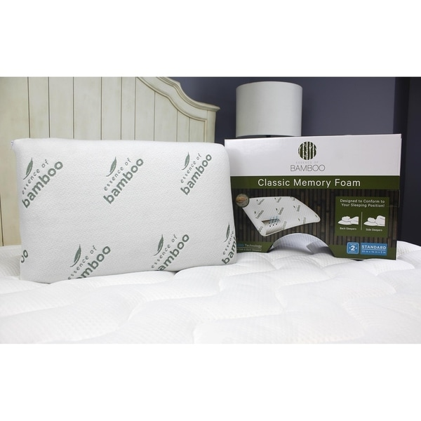 Essence of Bamboo Classic Memory Foam Pillow