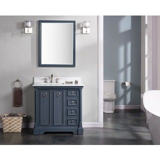 "Sebastian 36"" Double Bathroom Vanity Set"