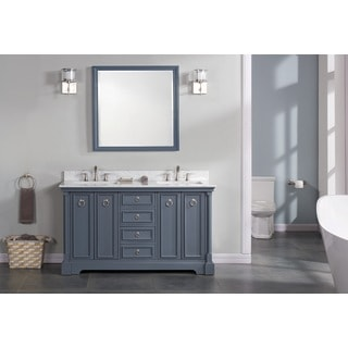 "Sebastian 60"" Double Bathroom Vanity Set"