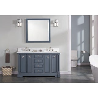 "Sebastian 60"" Double Bathroom Vanity Set"