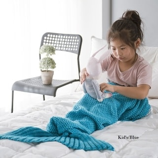 Cheer Collection Small Mermaid Blanket - Assorted Colors