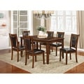 Nathaniel Home Jasmine Collection Solid Wood 7-piece Dining Set