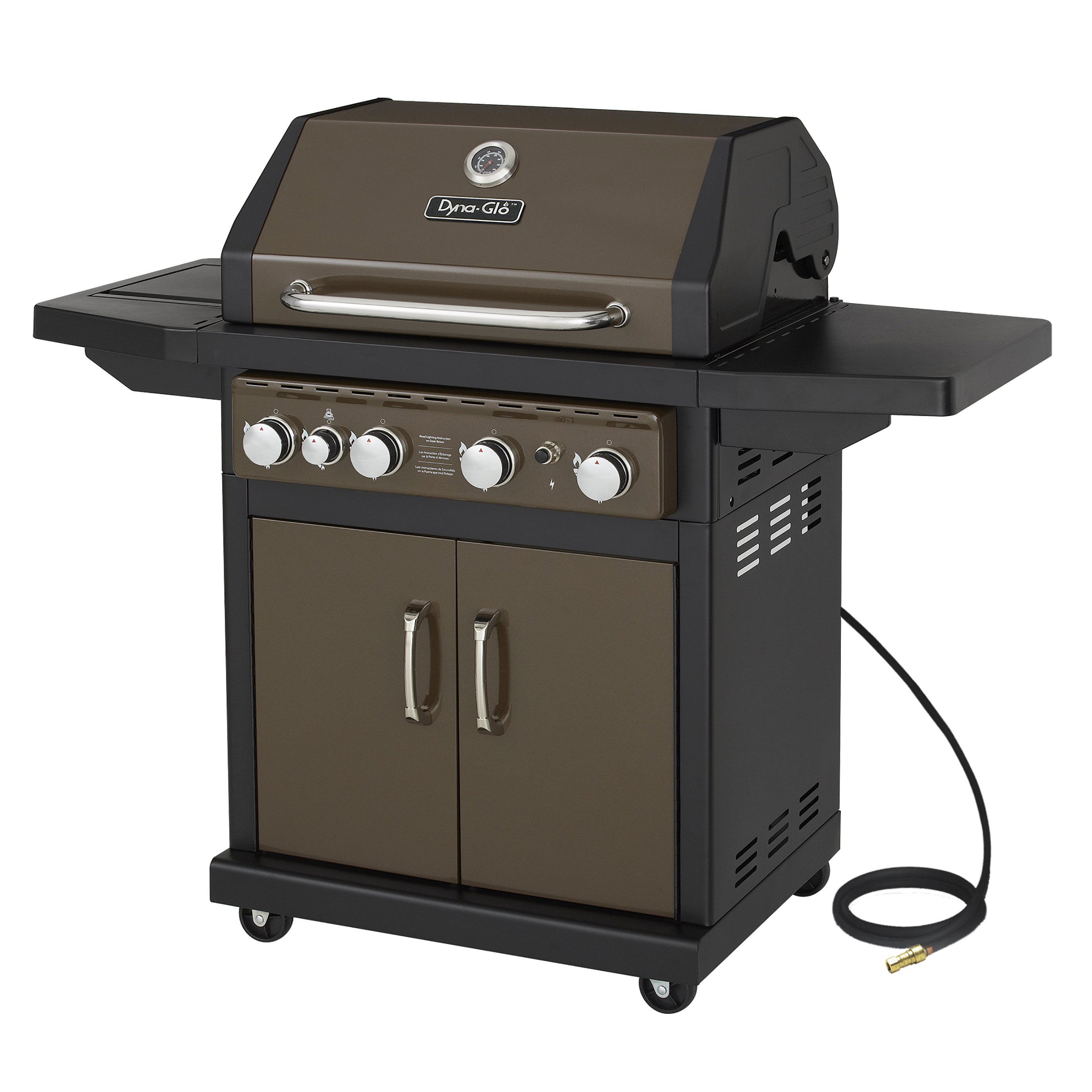 Dyna Glo DGA480BSN 4 Burner Bronze Natural Gas Grill (4 B...