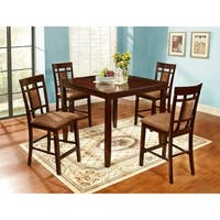 Ryder Collection Solid Wood Bar Set- 5 pc pack by Nathaniel Home - N/A