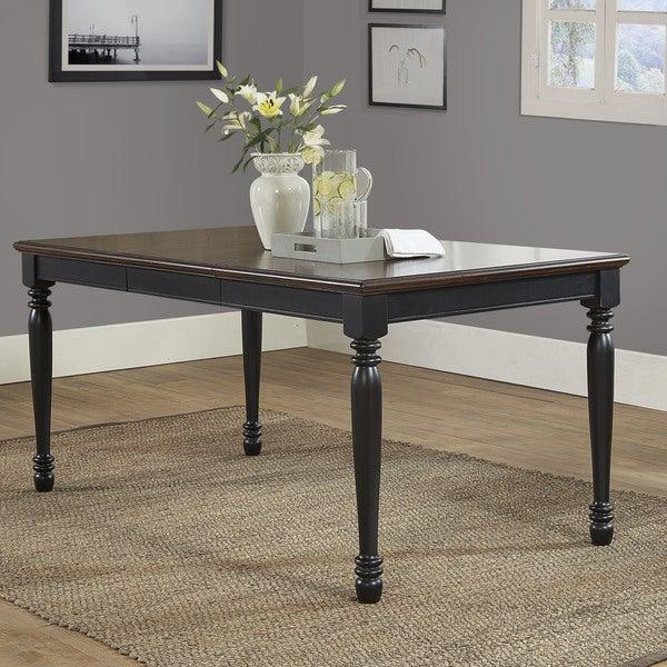 Shelby Dining Table In Black Finish