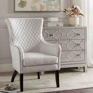 Madison Park Lea Natural/ Morocco Accent Chair