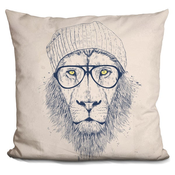 Balazs Solti 'Welcome to the jungle' Throw Pillow
