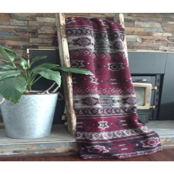 Mazmania Napa Looped Wool Throw