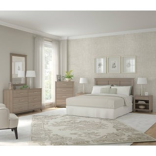 Oliver & James Elizabeth Ash Grey 6-piece Bedroom Set