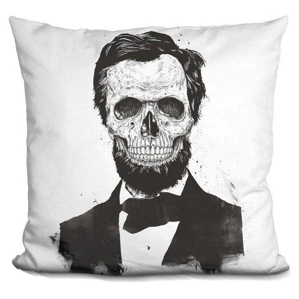 Balazs Solti 'The beard is not dead' Throw Pillow