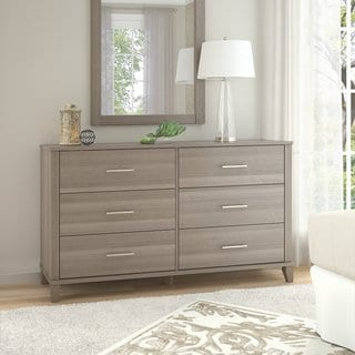 Somerset Ash Grey 6 Drawer Dresser