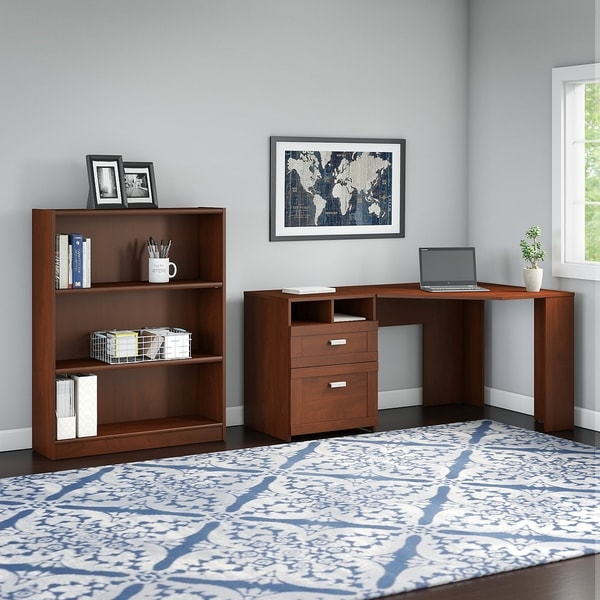 Shop Bush Furniture Wheaton Reversible Corner Desk With