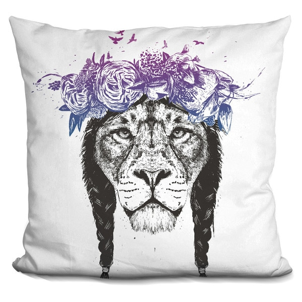 Balazs Solti 'Lovely panda' Throw Pillow