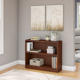 Universal Hansen Cherry 2-shelf Bookcase