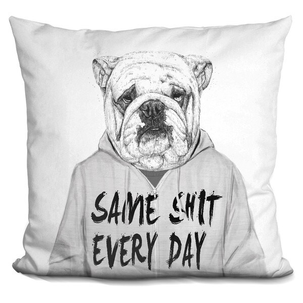 Balazs Solti 'Get the party started' Throw Pillow