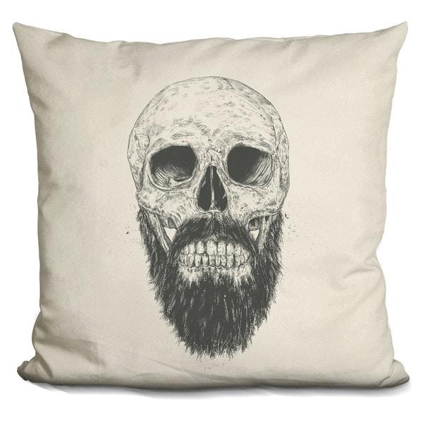 Balazs Solti 'Dead Lincoln bw' Throw Pillow