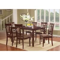 Ryder Collection Solid Wood Dining Set- 7 pc pack by Nathaniel Home
