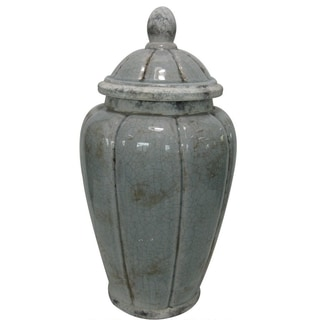 Jeco Ceramic 16-inch Jar With Lid