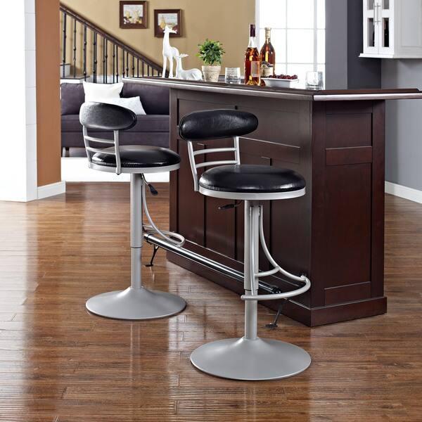 Tremendous Jasper Platinum Metal Swivel Counter Stool With Black Cushion Andrewgaddart Wooden Chair Designs For Living Room Andrewgaddartcom