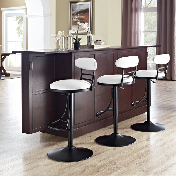 Shop Crosley Furniture Jasper Black Metal Swivel Counter