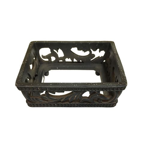 HiEnd Accents Savannah Canister Base Set Of 3