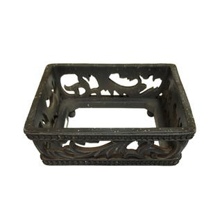 HiEnd Accents Savannah Canister Base Set Of 3|https://ak1.ostkcdn.com/images/products/15974532/P22371004.jpg?impolicy=medium