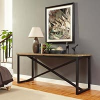 Traverse Wood Stand Console Table