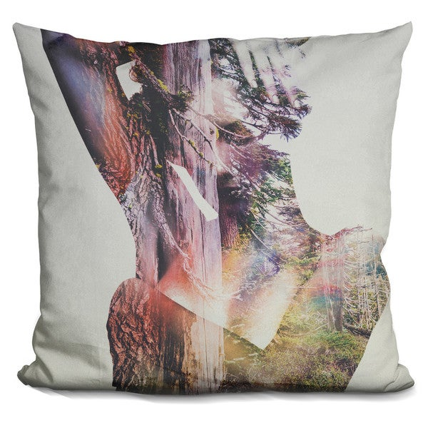 WILDERNESS HEART I Throw Pillow