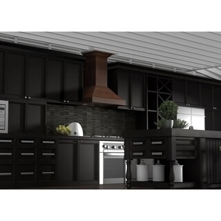 ZLINE 30 in. 760 CFM Designer Series Wooden Wall Mount Range Hood (KBRR-30)