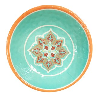 HiEnd Accents Western Melamine Serving Bowl