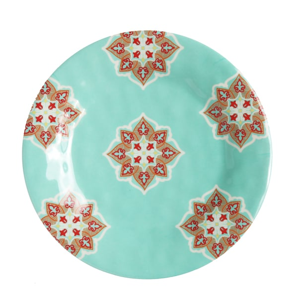 HiEnd Accents Western Melamine Salad Plate. Opens flyout.