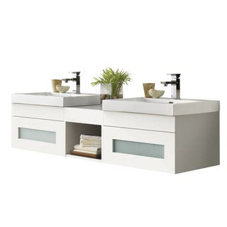 Ronbow Rebecca White Ceramic/ Wood Sinktop 62-inch Bathroom Vanity Set|https://ak1.ostkcdn.com/images/products/15974890/P22371377.jpg?impolicy=medium