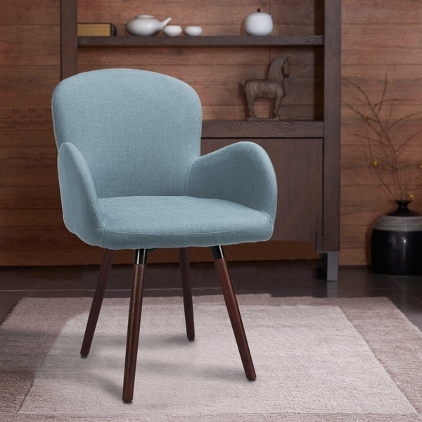 Shop Innovex London Fabric Accent Chair Free Shipping Today