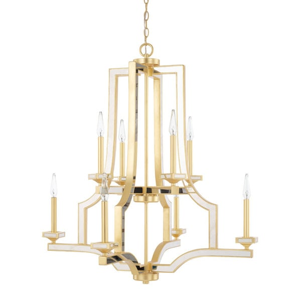 Capital Lighting Abella Collection 8-light Capital Gold Chandelier
