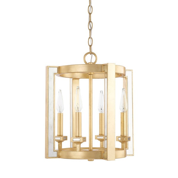 Capital Lighting Abella Collection 4-light Capital Gold Foyer Pendant
