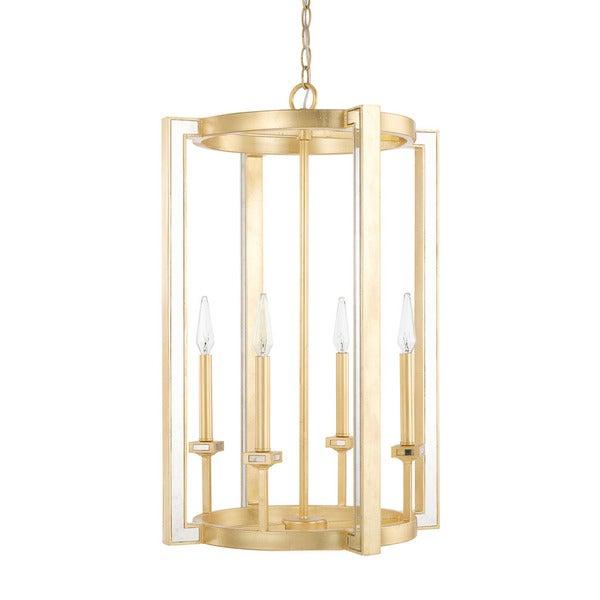 Capital Lighting Abella Collection 4-light Capital Gold Foyer Pendant