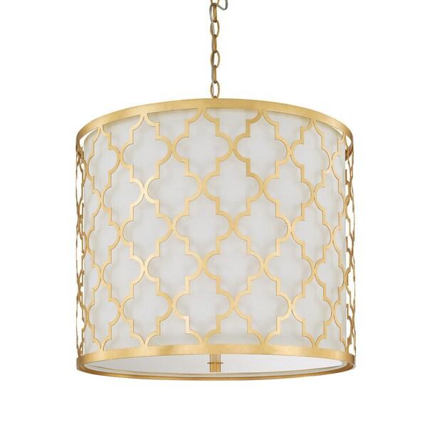 Capital Lighting Ellis Collection 5-light Capital Gold Pendant