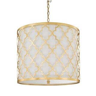 Capital Lighting Ellis Collection 5-light Capital Gold Pendant