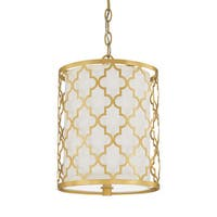 Capital Lighting Ellis Collection 2-light Capital Gold Pendant