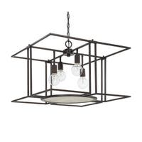Capital Lighting Alston Collection 4-light Old Bronze Foyer Pendant