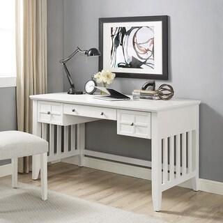 Adler Computer Desk in White Finish