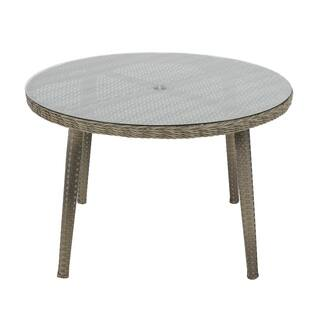 Madison Park Dana Grey Outdoor Round Table|https://ak1.ostkcdn.com/images/products/15974997/P22371482.jpg?impolicy=medium